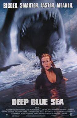 Deep Blue Sea (1999 film) poster