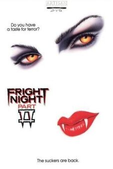 Fright Night Part II (1988) poster