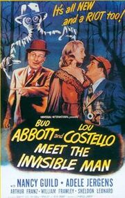 Abbott & Costello Meet the Invisible Man poster