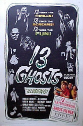 13 Ghosts (1960) poster
