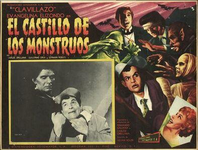El castillo de los monstruos 1958