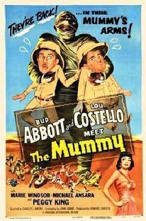 Abbott & Costello Meet the Mummy poster