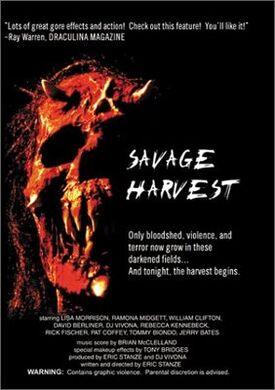 Savage harvest 1994 dvd front