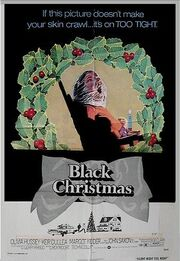 Black Christmas 74 poster