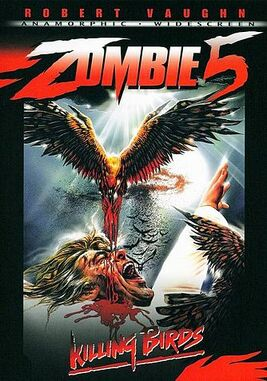 Zombie 5 dvd cover