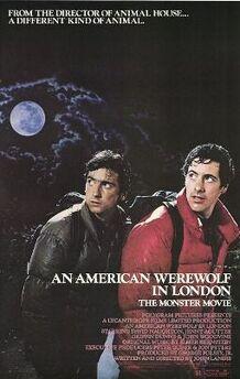 An American Werewolf in London poster