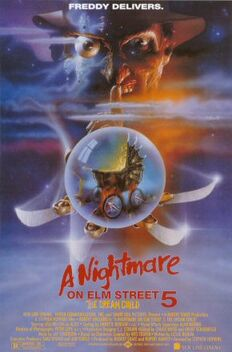 A Nightmare on Elm Street 5 - The Dream Child poster