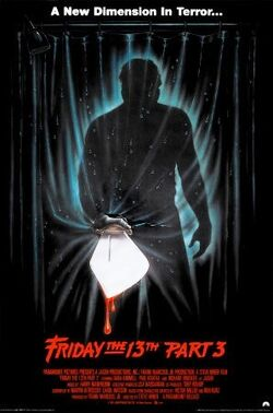 Friday the 13th Part III poster