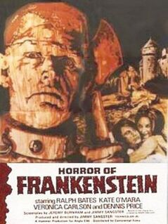 Horror of Frankenstein (1970) poster