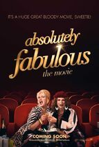 AbFab Movie Poster