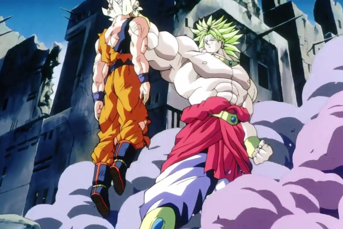 Broly wrecks Goku's, Dragon Ball