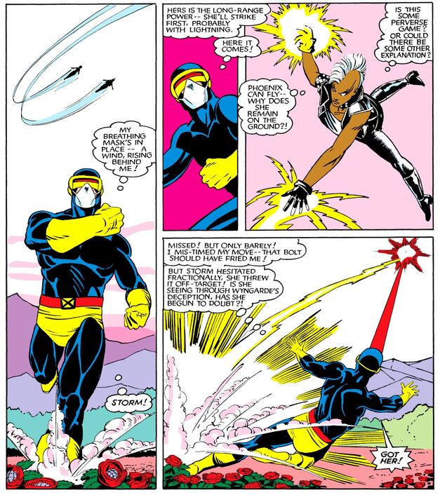 Uncanny X-Men 175 Cyclops vs Storm