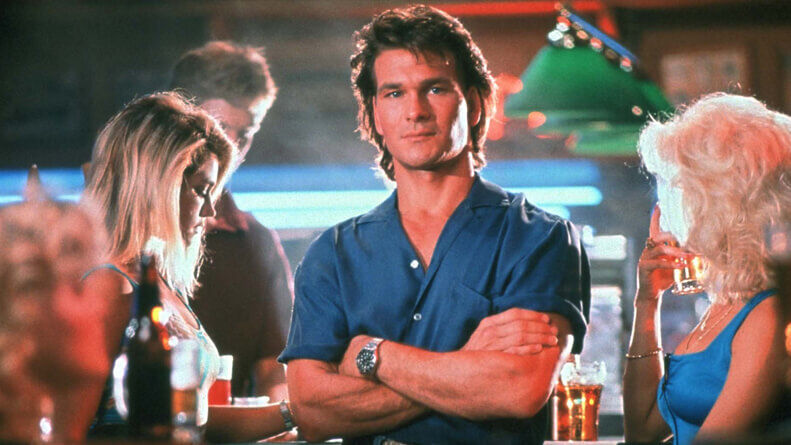 The Least Action Hero: Patrick Swayze in 'Road House' | Fandom