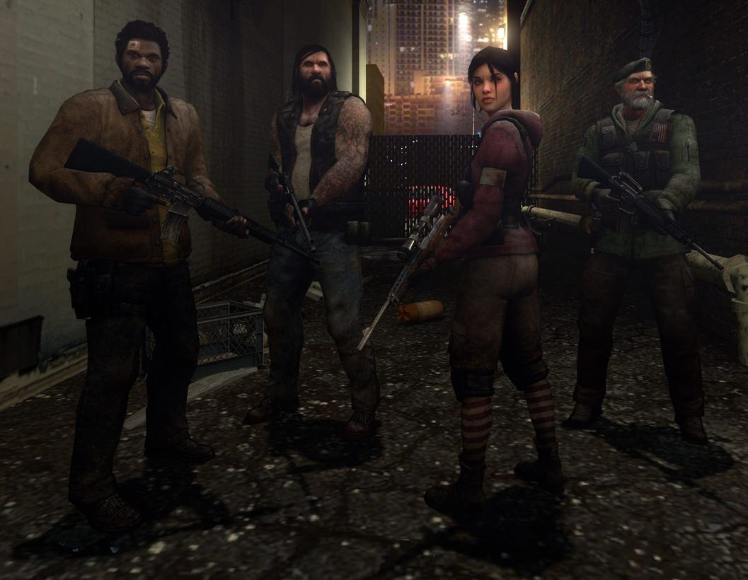 The Survivors in Left 4 Dead