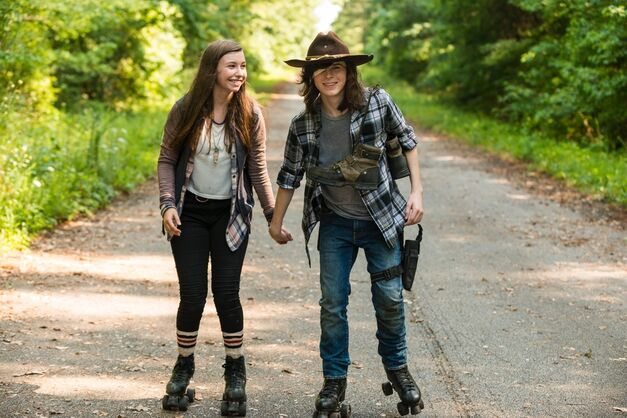 The Walking Dead-Carl-Enid