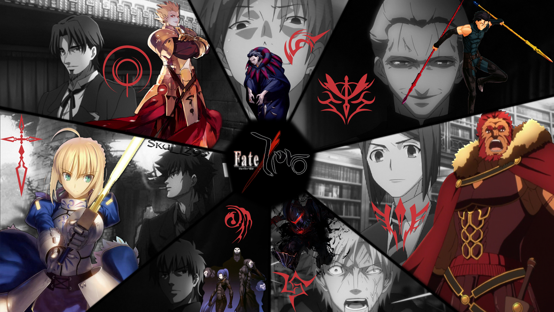 Fate Zero Masters And Servants Wallpaper By Skullz95 D9jrwq8