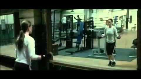 Training Scene from Million Dollar Baby