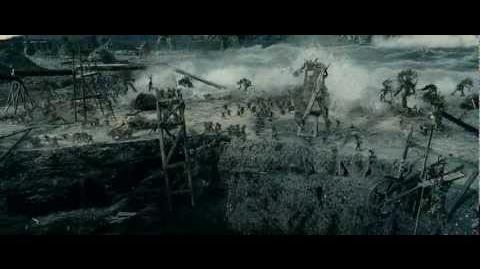LOTR The Two Towers - Attack of the Ents