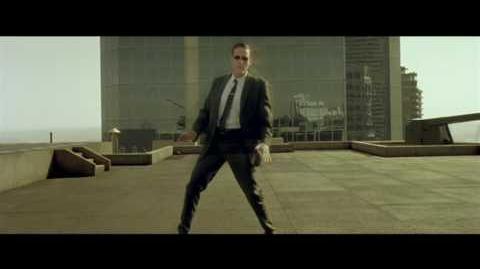 The Matrix - Bullet time Helipad Fight Scene Super High Quality
