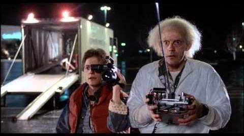Back To The Future 1985 - The DeLorean