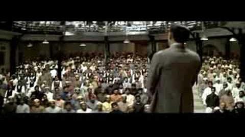 Gandhi's non-violence speech
