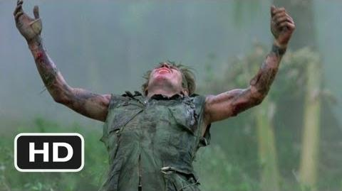 Platoon (7 10) Movie CLIP - The Death of Sgt. Elias (1986) HD
