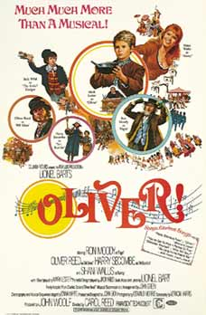 Oliver! (1968 movie poster)