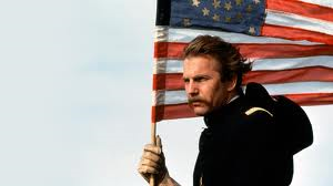 Costner dances with wolves