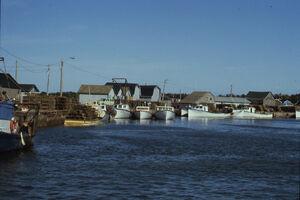 Quai de Miminegash wharf