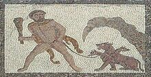 Mosaico Trabajos Hércules (M.A.N. Madrid) 12