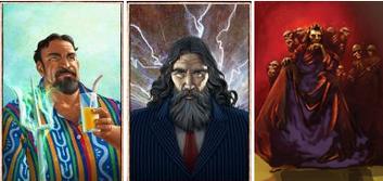 Poseidon,Zeus e Hades