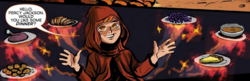 Hestia using powers