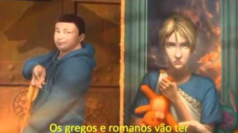 Book Trailer de O Filho de Netuno.