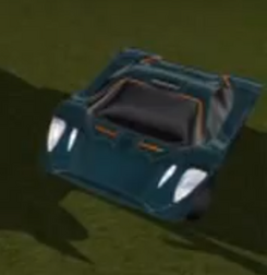Clyp car front view