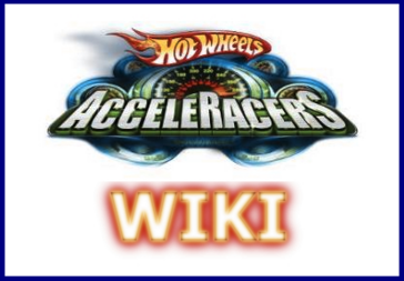 Hotwheels Acceleracers WIki Logo With Border