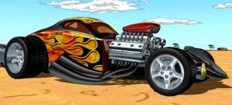 Vesuvius' car