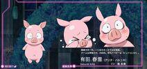 Accel World Anime Character Designs Haruyuki Arita 2