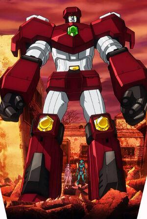 Crimson Kingbolt (Mega Machine Awakening)