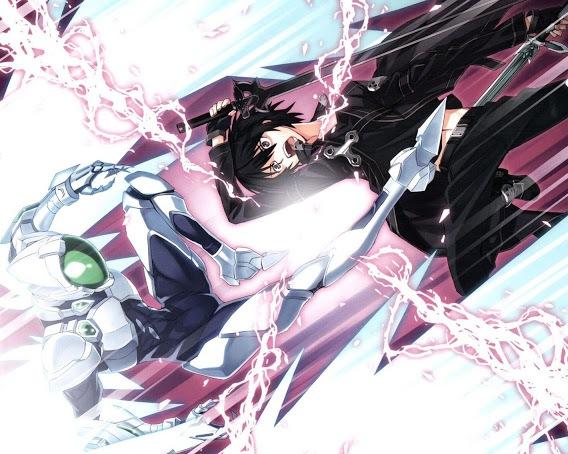 ArchivoCrossover Silver Crow Y Kirito