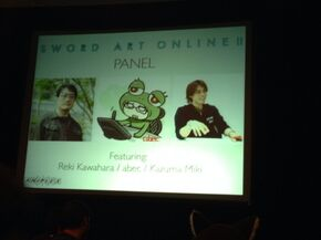 Noticia de Accel World expo