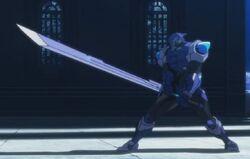 Cyan Blade 00 (Ataque)