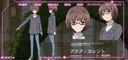 Accel World Anime Character Designs Himi Akira