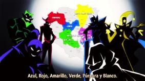Reyes de Color Puro
