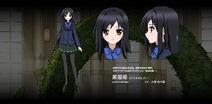 Accel World Anime Character Designs Kuroyukihime