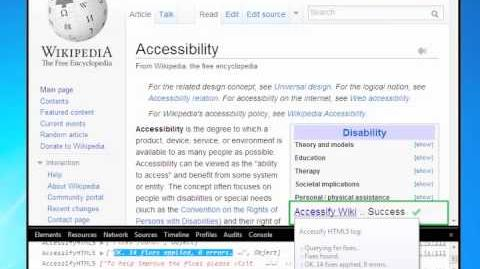 Accessify Wiki beta - Introduction