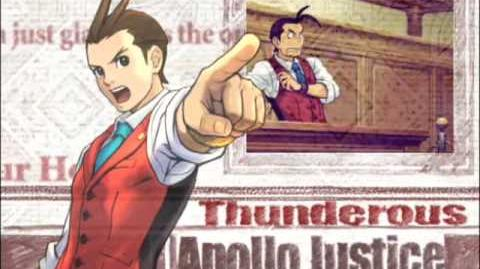 Apollo Justice Ace Attorney Trailer