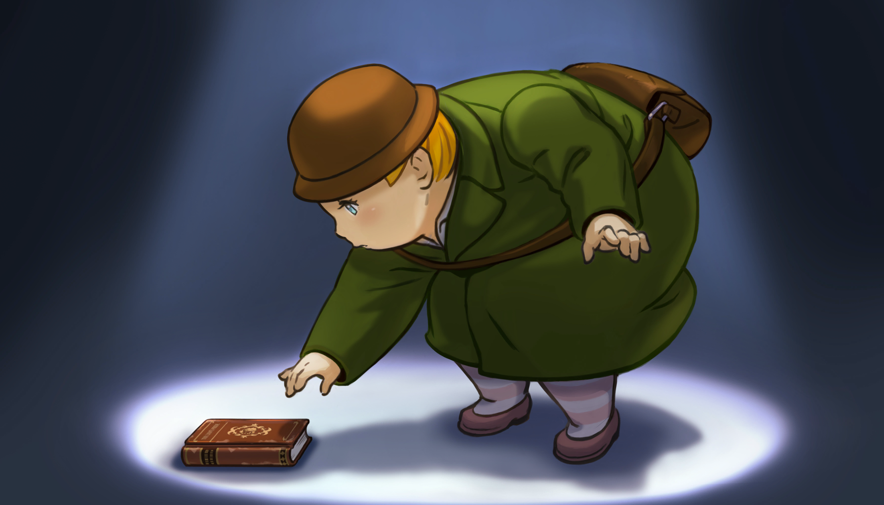 File:Viridian holding a book.png