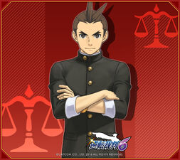 ace attorney trilogy wallpaper