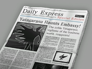 NewspaperYatagarasuHaunts