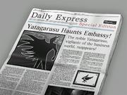 NewspaperYatagarasuHaunts